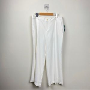 Ralph Lauren White Trousers/Pants in size 12P